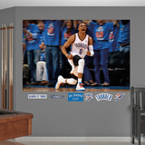 Oklahoma City Thunder Russell Westbrook Celebration Mural Decal Sticker Wall Mural