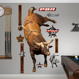 PBR Bushwacker Wall Decal Sticker Vinilo decorativo