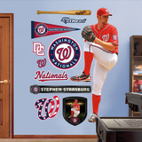Washington Nationals Stephen Strasburg - On The Mound Wall Decal Sticker Wallstickers