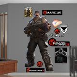 Gears Of War 3 - Marcus (sticker murale) Decalcomania da muro