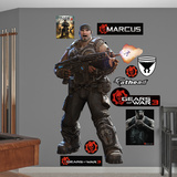 Gears Of War 3 Marcus Wall Decal Sticker Wall Decal