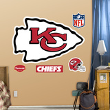 Kansas City Chiefs Logo Wall Decal Sticker Wall Decal