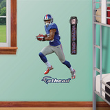New York Giants Victor Cruz Jr 2012 Wall Decal Sticker Wall Decal