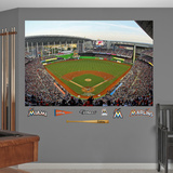 Miami Marlins Stadium 2012 Mural Decal Sticker Wall Decal