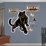 NCAA Adelphi Panthers Logo Wall Decal Sticker Wall Decal