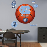 NCAA North Carolina Tar Heels Basketball Wall Decal Sticker Wall Decal