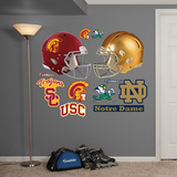 NCAA Notre Dame-USC Rivalry Pack Wall Decal Sticker Wallstickers