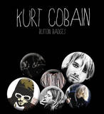 Kurt Cobain Cobain Badge Pack Badge