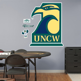 NCAA UNCW Seahawks Logo Wall Decal Sticker Wall Decal