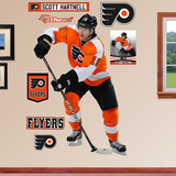 NHL Philadelphia Flyers Scott Hartnell Wall Decal Sticker Wall Decal