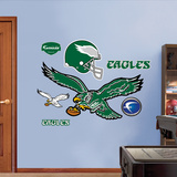 Philadelphia Eagles Classic Logo Wall Decal Sticker Wall Decal