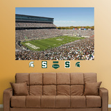 Michigan State Spartans Stadium Mural Decal Sticker Wallstickers