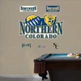 NCAA Northern Colorado Logo Wall Decal Sticker Wall Decal