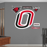 NCAA Nebraska-Omaha Mavericks Logo Wall Decal Sticker Wall Decal