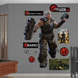 Gears Of War 3 Baird Wall Decal Sticker Wall Decal