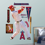 Los Angeles Angels Mike Trout - Home Wall Decal Sticker Wall Decal