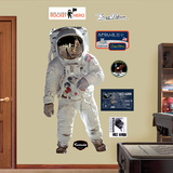 Buzz Aldrin Wall Decal Sticker Wall Decal