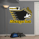 NCAA Michigan Tech Logo Wall Decal Sticker Wall Decal