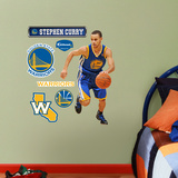 Golden State Warriors Stephen Curry Junior Wall Decal Sticker Seinätarra