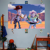 Toy Story Woody & Buzz Mural Decal Sticker Wall Decal