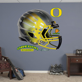 NCAA Oregon Ducks Titanium Carbon Hydroskin Helmet Wall Decal Sticker Wall Decal