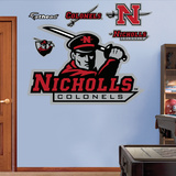 NCAA Nicholls State Colonels Logo Wall Decal Sticker Wall Decal