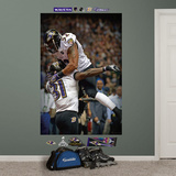 Baltimore Ravens Ray Lewis-Bernard Pollard Super Bowl 47 Celebration Mural Decal Sticker Wall Decal