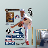 Chicago White Sox Chris Sale Wall Decal Sticker Wallstickers