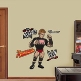 WWE Wrestling Kids The Miz Wall Decal Sticker Wall Decal