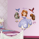 Sofia the First Collection Wall Decal Sticker Wall Decal