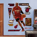 Miami Heat Ray Allen Wall Decal Sticker Wall Decal