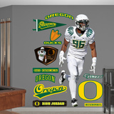 NCAA/NFLPA Dion Jordan Oregon Ducks 2013 Wall Decal Sticker Wall Decal