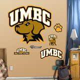 NCAA Maryland Baltimore County Logo Wall Decal Sticker Wall Decal