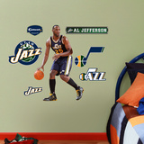 Utah Jazz Al Jefferson Junior Wall Decal Sticker Wall Decal
