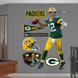 NFL Green Bay Packers Aaron Rodgers Green Wall Decal Sticker Wall Decal