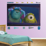 Monsters University Window Mural Decal Sticker Wall Mural