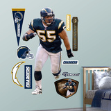 San Diego Chargers Junior Seau Wall Decal Sticker Wall Decal