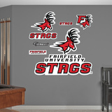 NCAA Fairfield Stags Logo Wall Decal Sticker Wall Decal