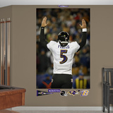 Baltimore Ravens Joe Flacco Playoff Touchdown Celebration Mural Decal Sticker Wall Decal