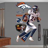 NFL Denver Broncos Champ Bailey Wall Decal Sticker Wall Decal