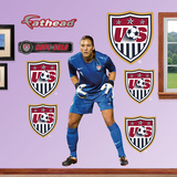 Soccer Hope Solo Wall Decal Sticker Muursticker