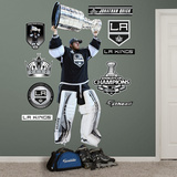 NHL Los Angeles Kings Jonathan Quick Stanley Cup Wall Decal Sticker Wall Decal