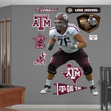 NCAA/NFLPA Luke Joeckel Texas A&M 2013 Wall Decal Sticker Wall Decal