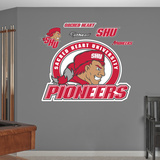 NCAA Sacred Heart Pioneers Logo Wall Decal Sticker Wall Decal