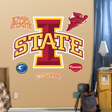 NCAA Iowa State Cyclones Logo Wall Decal Sticker Wall Decal