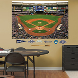 Wrestling Milwaukee Brewers Standium 2012 Mural Decal Sticker Muursticker