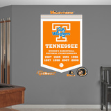 NCAA Tennessee Volunteers Women's Basketball Championships Banner Wall Decal Sticker Wall Decal