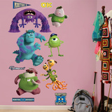 Monsters University Collection Wall Decal Sticker Wall Decal