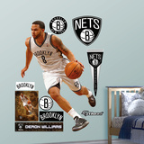 Brooklyn Nets Deron Williams Wall Decal Sticker Wall Decal