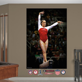 Gymnastics Jordyn Wieber Beam Mural Decal Sticker Wall Decal